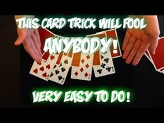Interactive Flip: This Easy Card Trick Will FOOL Anybody! Performance And Tutorial! Easy Card Tricks, Easy Magic Tricks, Mathematical Card Tricks, Magic Tricks Revealed, Learn Magic, Sleight Of Hand, The Fool, The Magicians, Things To Come