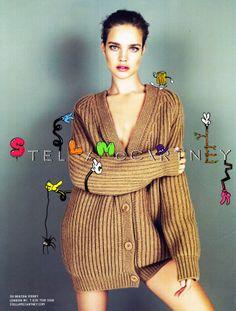 Stella McCartney ad. Scan from a magazine.