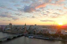 London Eye, em Londres (Reino Unido) - Foto: Ticiana Giehl e Marquinhos Pereira/Escolha Viajar