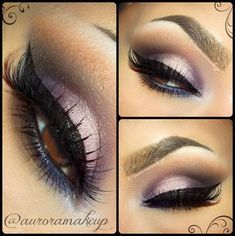 pink and brown smokey eye make up - looks particularly stunning on brown eyes. Beauty Make-up, Beauty Hacks, Hair Beauty, Black Beauty, Beauty Tips, Love Makeup, Makeup Tips, Makeup Looks, Makeup Ideas