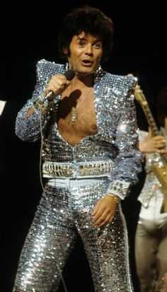 Gary Glitter, subsequently to achieve greater fame as convicted serial pedophile