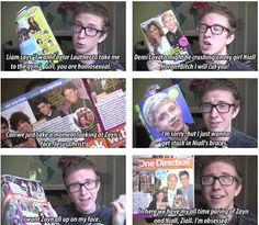 Tyler Oakley. Love his youtube