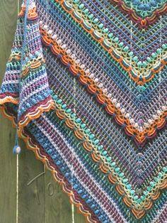 """Summer shawl """"Lost in time"""" (crochet shawl, crochet wrap, cotton shawl, crochet lace, шаль крючком, летняя шаль, шаль из хлопка)"""