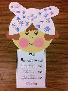 mrs wishy washy mud poem