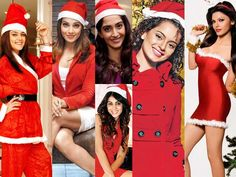 See your favorite Bollywood Diva as Santa!!