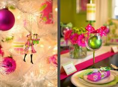 Pink Preppy Lilly Lover: Pink & Green Thursday - Christmas Edition!