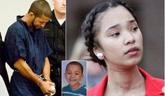 Brave sister, 14, fights back tears in court as the man who raped her, slashed her throat and then killed her little brother 6, when he tried to save her is sentenced to 110 years in prison