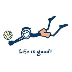 Life is good when your a volleyball player