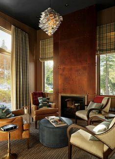 Etonnant Northern California Mountain Retreat Displays Impressive Design Details