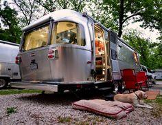 Pecan Grove RV Park Airstream | Glamping ~ An Airstream Diary