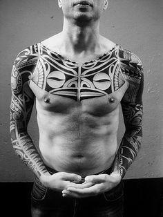 Polynesian tattoos by Igor Kampman: Marquesan, Samoan, Maori, Tongan, Hawai… Line Tattoos, Black Tattoos, Tribal Tattoos, Tatoos, Japanese Sleeve Tattoos, Full Sleeve Tattoos, Chinese Tattoos, Samoan Tattoo, Polynesian Tattoos