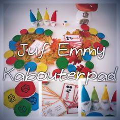 Juf Emmy Gezelschapspel kabouterpad Dwarf, Halloween Crafts, Teaching, School, Fall, Mushroom, Fall Season, Autumn, Kids