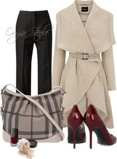 """Beige and Burberry"" by orysa on Polyvore"