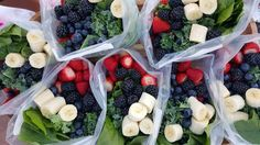 Pre-Prepped Green Smoothie Baggies  http://cleanfoodcrush.com/green-smoothie-packs/