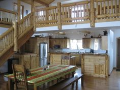 Flagstaff Vacation Rental - VRBO 412766 - 4 BR Canyon Country & Northeast Cabin in AZ, Grand Canyon Lodge*Unsurpassed Peak Views*Large Cabin*Sleeps14