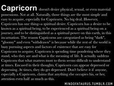 are capricorns possessive