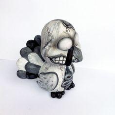 Zombie Turkey Vinyl Toy ~ by Chris Brett