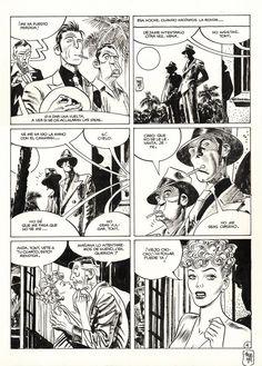 Detective, Jordi Bernet, Comic Boards, Classic Comics, Comic Page, Pulp Art, Comic Books Art, Storyboard, Cartoon Art