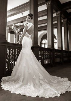 Cheap bridal gown, Buy Quality lace wedding dress directly from China wedding dress Suppliers: Vestidos De Novia Exquisite Best-selling Sexy Sweetheart Tulle/lace Wedding Dress Mermaid Applique Backless Dress/bridal Gown Mermaid Trumpet Wedding Dresses, Wedding Dresses 2014, Lace Mermaid Wedding Dress, Wedding Attire, Wedding Gowns, Backless Wedding, Dresses 2016, Event Dresses, Wedding Inspiration