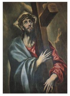 El Greco Famous Artwork | -carrying-the-cross-painting-by-el-greco-el-greco-famous-paintings ...