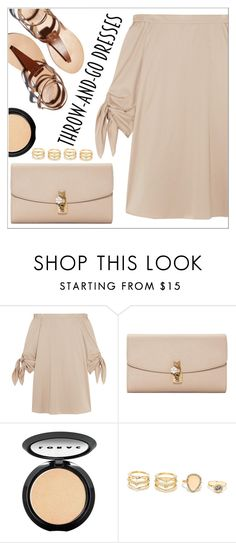 """Summer nights"" by simona-altobelli ❤ liked on Polyvore featuring TIBI, Dolce&Gabbana, LORAC, LULUS, MyStyle, beige, easypeasy and polyvorecontest"