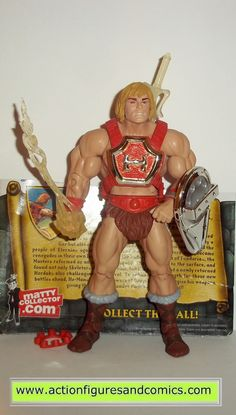 masters of the universe HE-MAN THUNDER PUNCH classics mattel toys action figures