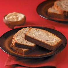 This bread is wonderful but the butter is CRAZY good! Autum says this is rid-DUNK-ulous! :)