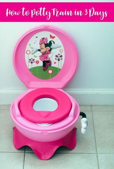 Learn How To Potty Train A Toddler in Three Days without losing your cool when you follow my tried and true tips!