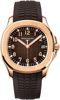 5167R-001 Patek Philippe Aquanaut Mens 18K Rose Gold Watch | WatchesOnNet.com