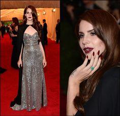 Lana Del Ray at the Met Ball 2012. Stunning!