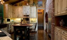 cocinas rusticas cocina a leña
