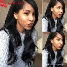 Hot Brazilian Virgin Human Hair Full Lace Wigs Bleached Knots Glueless Wet And…