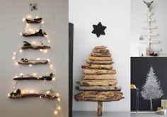 Erilaisia joulukuusi-ideoita (blogista Elsass)