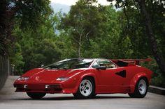 1987 Lamborghini Countach 5000 Quattrovalvole Downdraft