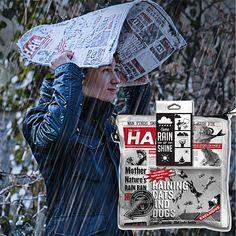 Зонт-коврик 'Manbrella'