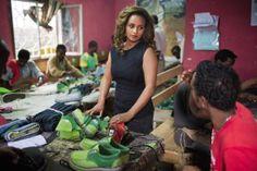 Bethlehem Alemu, une rebelle créative. @soleRebels Footwear #entrepreneurship #c2mtl #creative