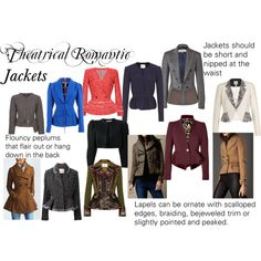 """""""Theatrical Romantic Jackets"""" by trueautumn on Polyvore"""