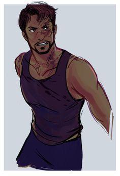 Tony Stark (by wackyavengers)