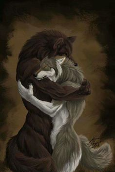 Werewolf Love: Marcus and Ri...Marcus succumbs to becoming a werewolf after a kiss from Ri and in order to be with her forever ...otherwise a bite from Marcus would kill Ri ...so he gives up being a vampire to save her from death.