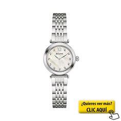 Bulova Diamond 96S167 - Reloj de pulsera de... #reloj #mujer