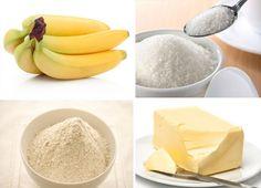 Banana Budin – Ingredients – Women's Hair and Model Suggestions Healthy Banana Pudding, Banana Pudding Ingredients, Mango Salat, Banana Madura, Cocktail Videos, Bananas, Banana Nut Bread, Pan Dulce, Banana Recipes