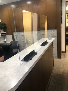 Custom Crates, Sneeze Guard, Patina Color, Furniture Movers, Break Room, Can Design, Plexus Products, Luxury Furniture, Reception Areas