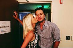 Caroline and Luke