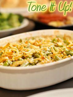 Green Bean Casserole that's vegan and gluten free!