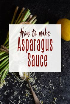 How to make Asparagus Sauce – A super simple and very healthy sauce for Aspargus lovers to make perfect for vegetarian pesto, soups, spreads or on it's own. Creamed Asparagus, Fresh Asparagus, Vegetarian Pesto, Vegetarian Recipes Easy, How To Make Asparagus, Healthy Sauces, Frugal Family, Slimming World Recipes
