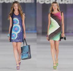 Desigual 2014 Spring Summer Womens Runway Collection - 080 Barcelona Fashion Week: Designer Denim Jeans Fashion: Season Collections, Runways, Lookbooks and Linesheets