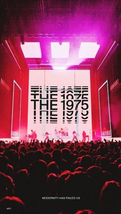 The 1975 For everything 1975 check out IomoioYou can find The 1975 and more on our website.The 1975 For everything 1975 check out Iomoio Bedroom Wall Collage, Photo Wall Collage, Picture Wall, Room Posters, Poster Wall, The 1975 Wallpaper, The 1975 Concert, Concert Stage, Matty Healy
