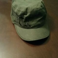 Fox military cap Grey hat with black writing Fox Accessories Hats