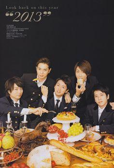 let's have dinner with arashi