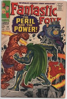 Fantastic Four 60 1st Series 1961 March 1967  Marvel Comics